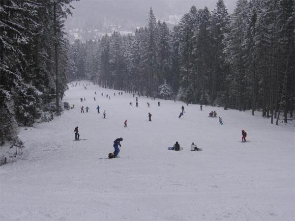 kalinderu ski slope