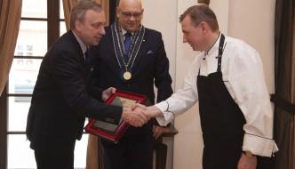 Paweł Oszczyk at La Rotisserie, Mamaison Le Regina Warsaw, Is Chef  de  l'Avenir