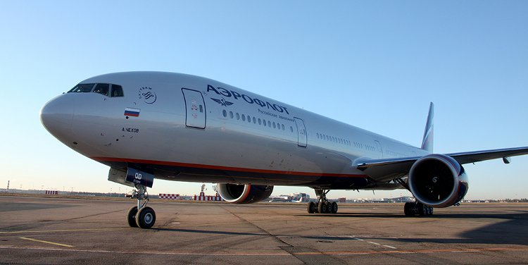 777-300ER - Courtesy Aeroflot