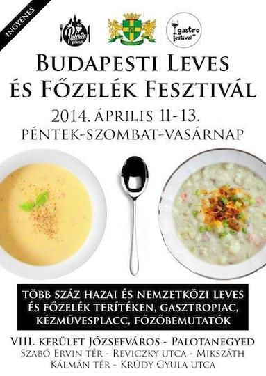 Budapest Soup Festival Kicks Off on Friday