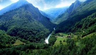 A Montenegro valley - courtesy Dinaric Arc Parks
