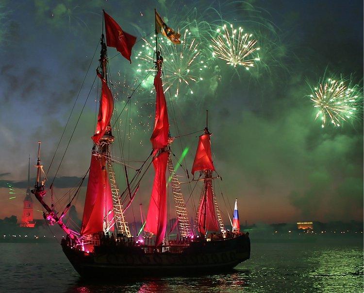 Scarlet Sails - Courtesy Marina Lystseva