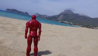 Ironman on Falasarna Beach