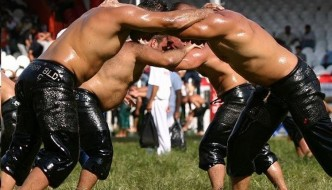 Courtesy Kırkpınar Yağlı Güreşleri / KIRKPINAR Oil Wrestling