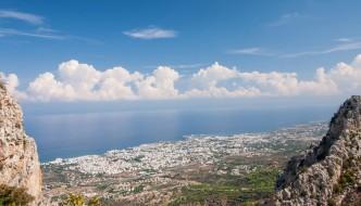 View from Pendathaktilos mountain