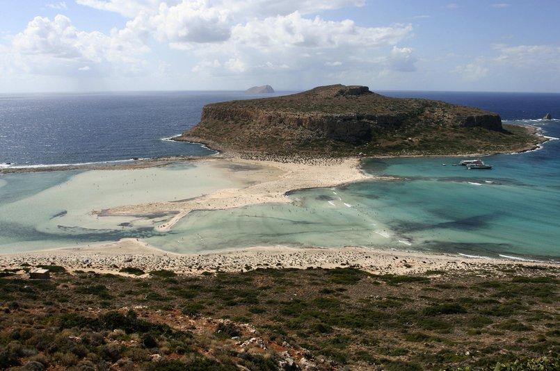 Balos Lagoon on Crete - courtesy Enrico Donelli