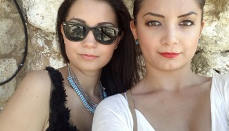 Diana and Ruxandra in Crete