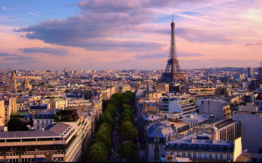 Paris by Moyan Brenn