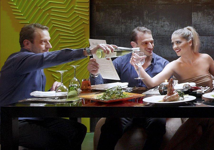 Brillant Restaurant at Lato Boutique Hotel in Heraklion