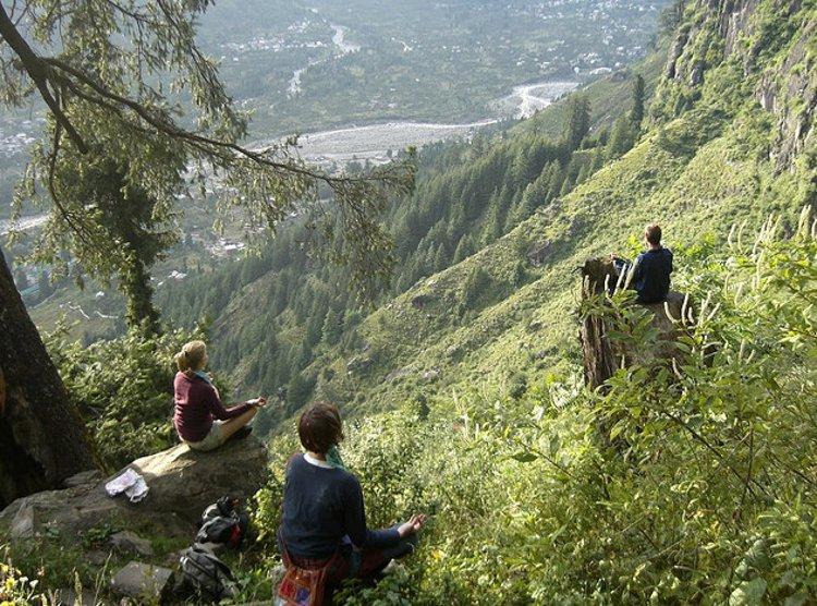 Above the Kullu Valley - Courtesy 4ocima