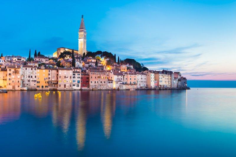 Coastal town of Rovinj, Istria, Croatia.© kasto - Fotolia