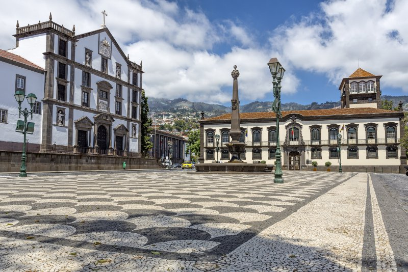 The historic town hall in Funchal, Madeira© Harald Bible