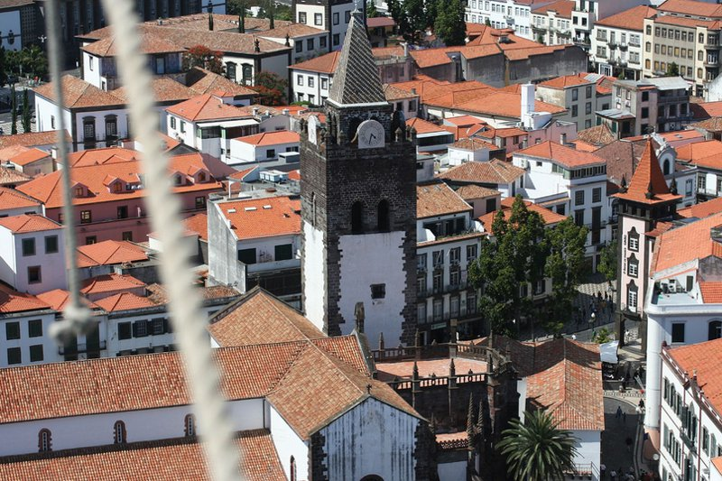 Funchal Cathedral by Andy Hawkins