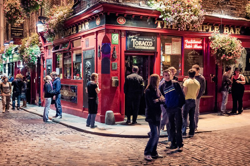 Temple Bar in Dublin by aspunkt