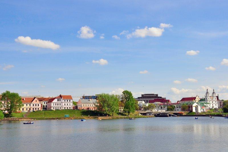 Minsk city centre© krasnevsky