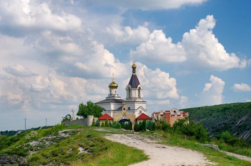 Christian Orthodox church in Old Orhei, Moldova© Byelikova Oksana