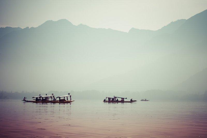 Peacefully Dal lake in Srinagar, Kashmir India© Mariusz Prusaczyk