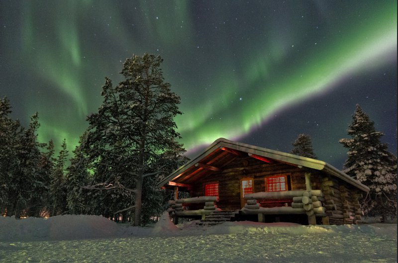 Northern lights in Lapland - Chris