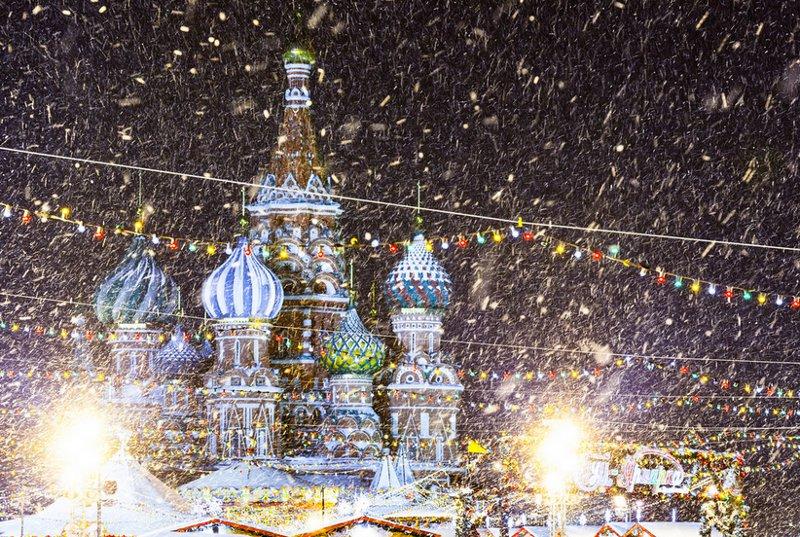 Taken December 25 in Moscow by Sergey Norin