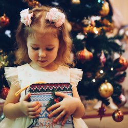 Presents for angels from angels on Christmas by Oleg