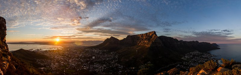 Cape Town Winter Sunrise via Daniel Manners