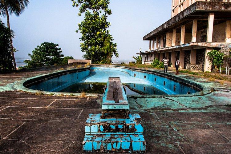 Abandoned Liberia Hotel
