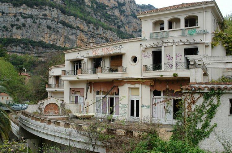 Abandoned Nice hotel