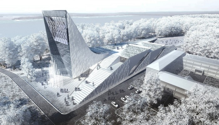 cience and Technology Museum in Tomsk © Asadov Architectural Bureau
