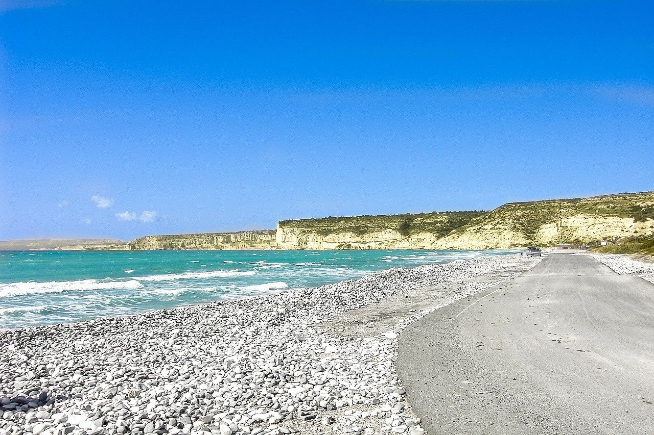 The incomparable seaside on Cyprus - via Pixabay