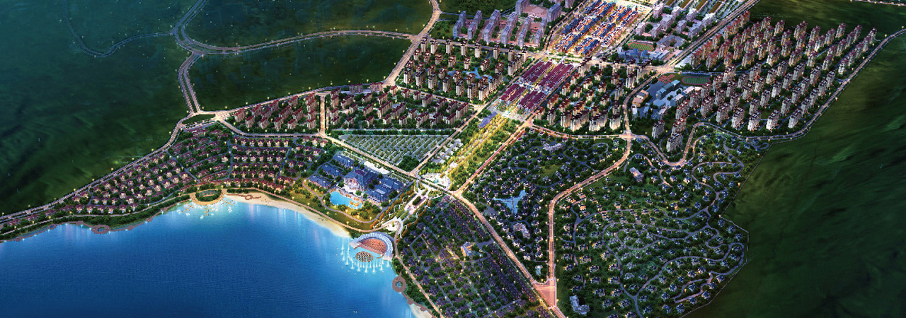 """""""Tbilisi Sea New City"""", the largest of the Chinese projects to date in Georgia"""
