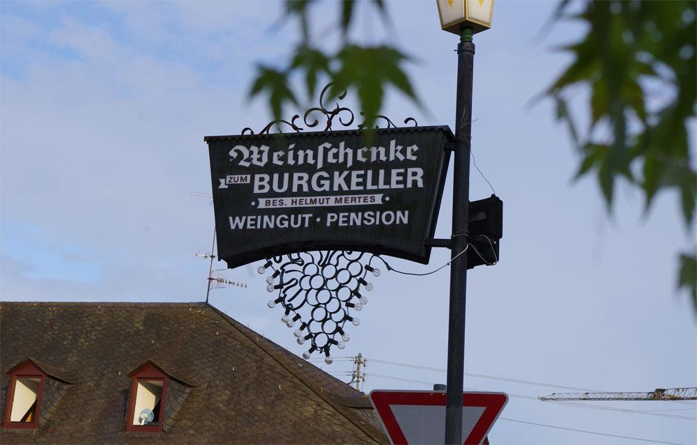 Burgkeller Alte Burg zu Longuich
