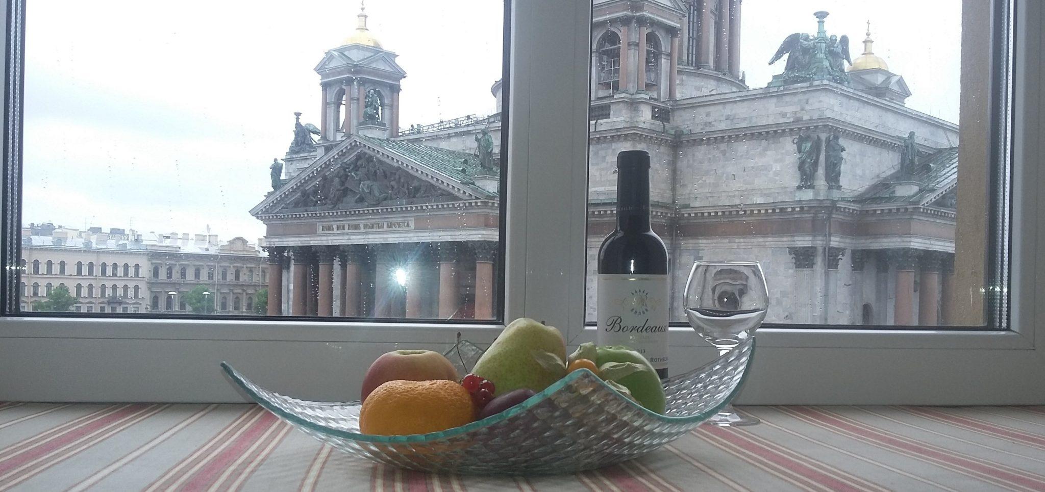 St. Isaac's from Olga's window