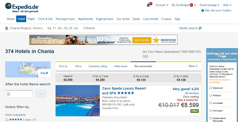 Compare accommodations for 6 via Expedia here to the below Airbnb one