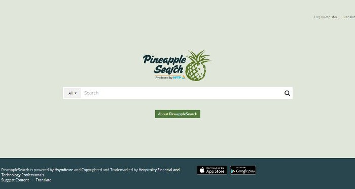 On an Island of Hospitality Data: Using Pineapple Search