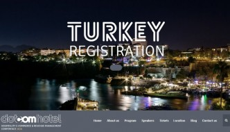 Dotcomhotel Hospitality Conference Comes to Turkey 2016