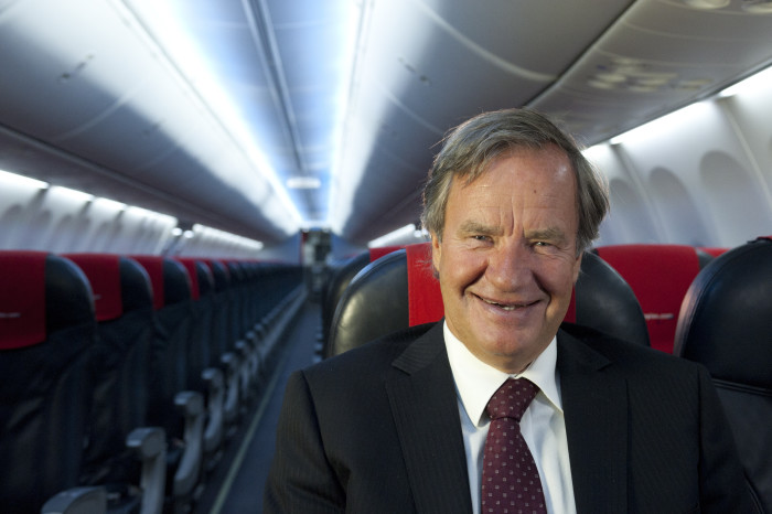 Norwegian CEO Bjørn Kjos