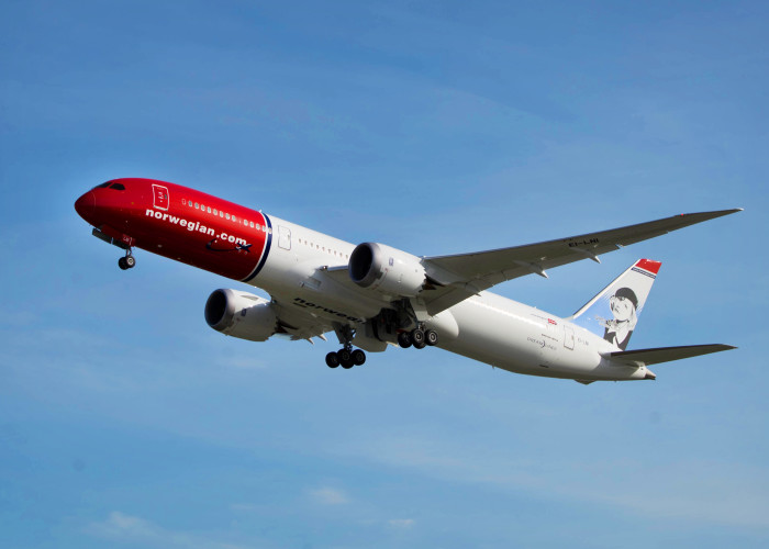 Norwegian's Dreamliner 787-9