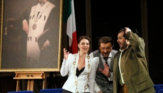 "Donizetti Opera ""don Pasquale"" Premiers at Bolshoi"