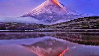 Experts Warn Locals and Tourists Of Klyuchevskaya Volcano
