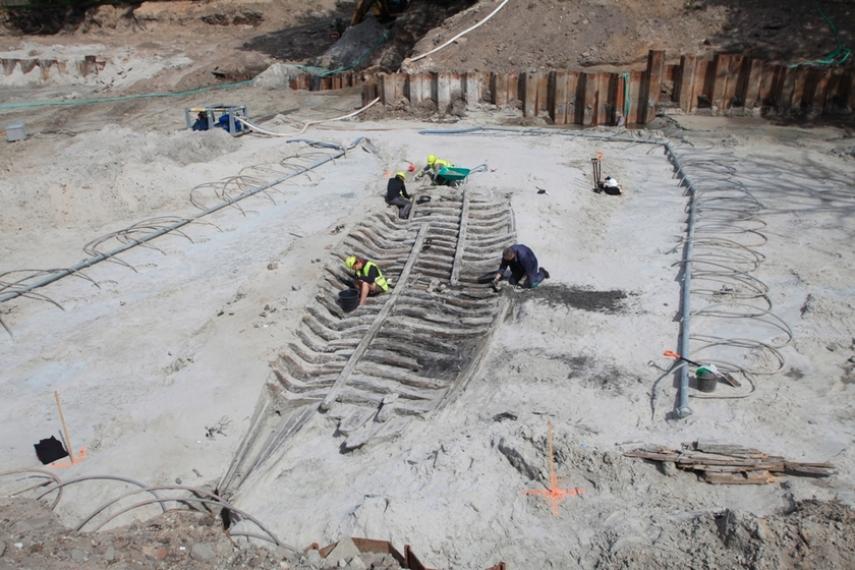 Ancient Ships Found in Tallinn
