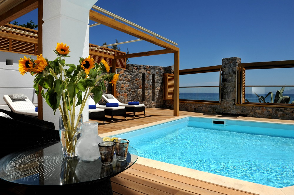 Creta Maris Beach Resort - Creta Maris Pool Villa Pool Area