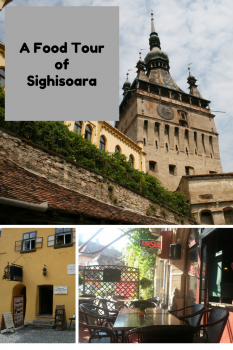 A Food Tour of Sighisoara, Romania
