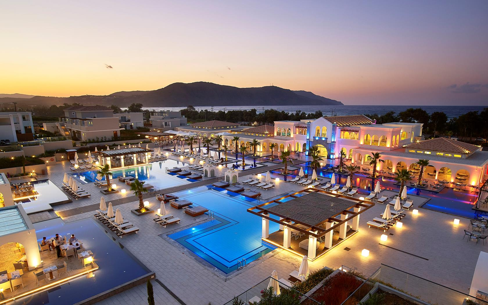 The fabulous Anemos Grand Luxury Resort