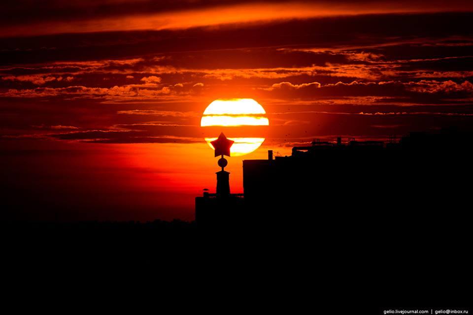 Volgograd horizon via Slava Stepanov