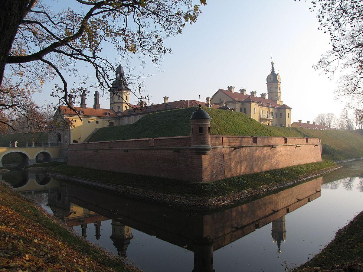 Nesvizh Castle fall