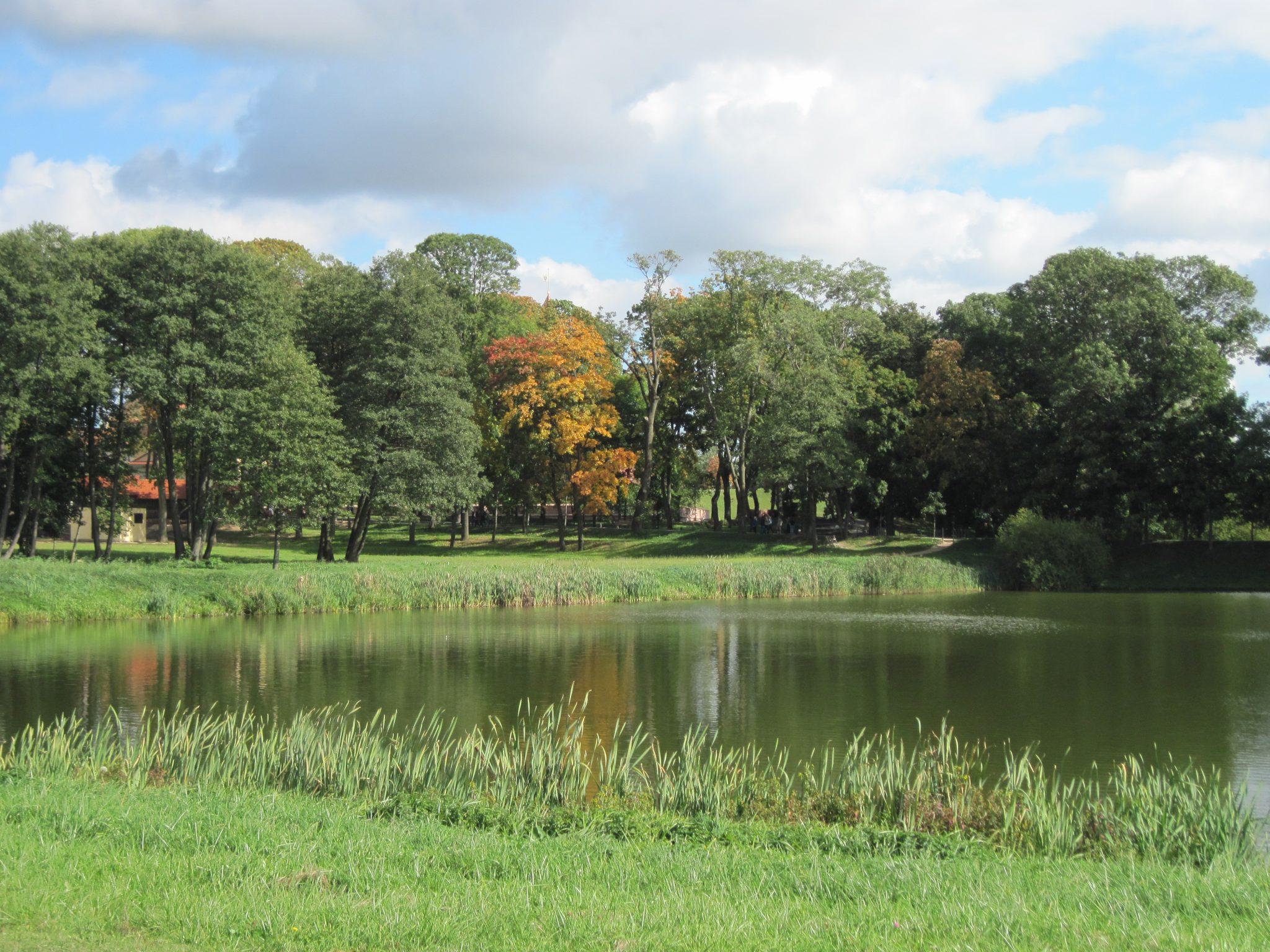 Nesvizh Castle park