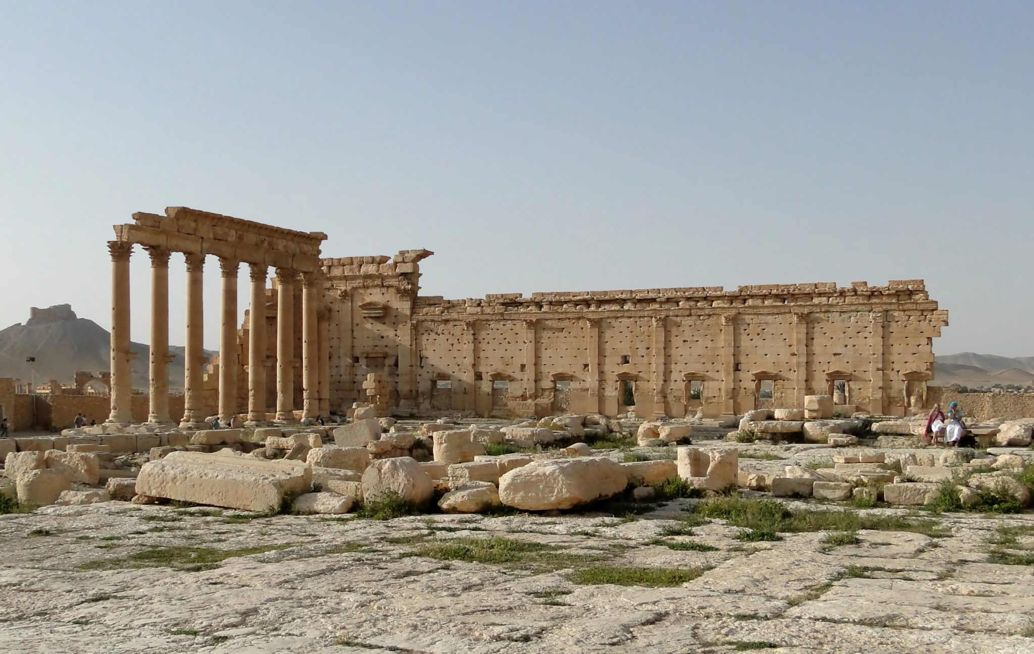 Russian Archaeologists Aim to Restore Palmyra