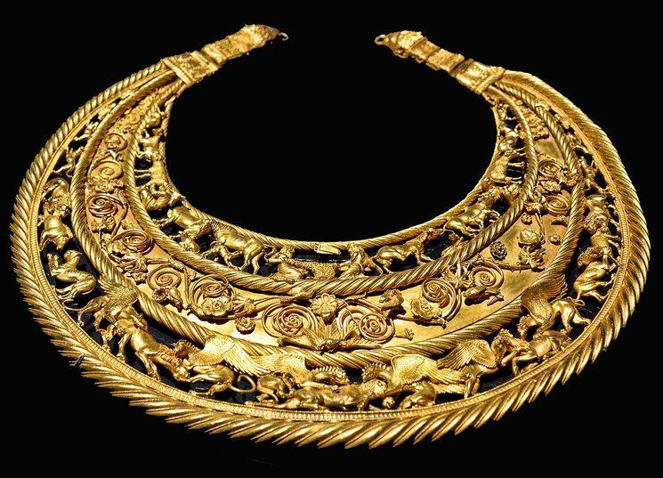 Scythian gold in Kiev