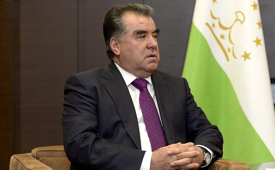 President of Tajikistan Emomali Rahmon - Kremlin