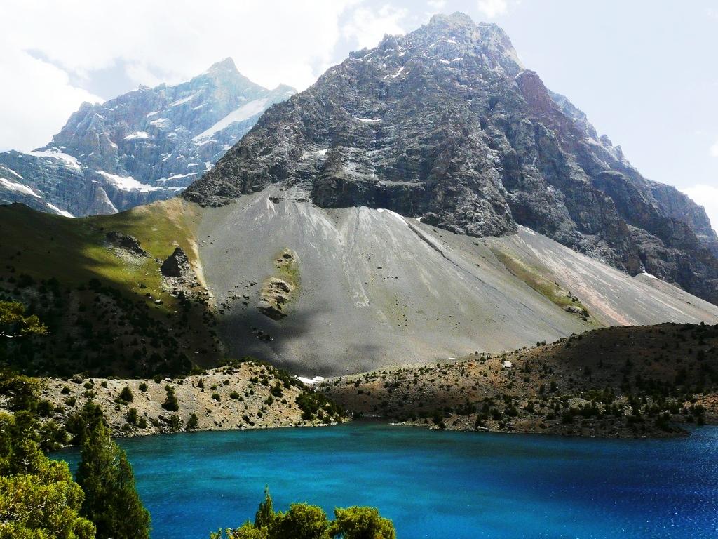 Alauddin lake in the Fann Mountains of Tajikistan